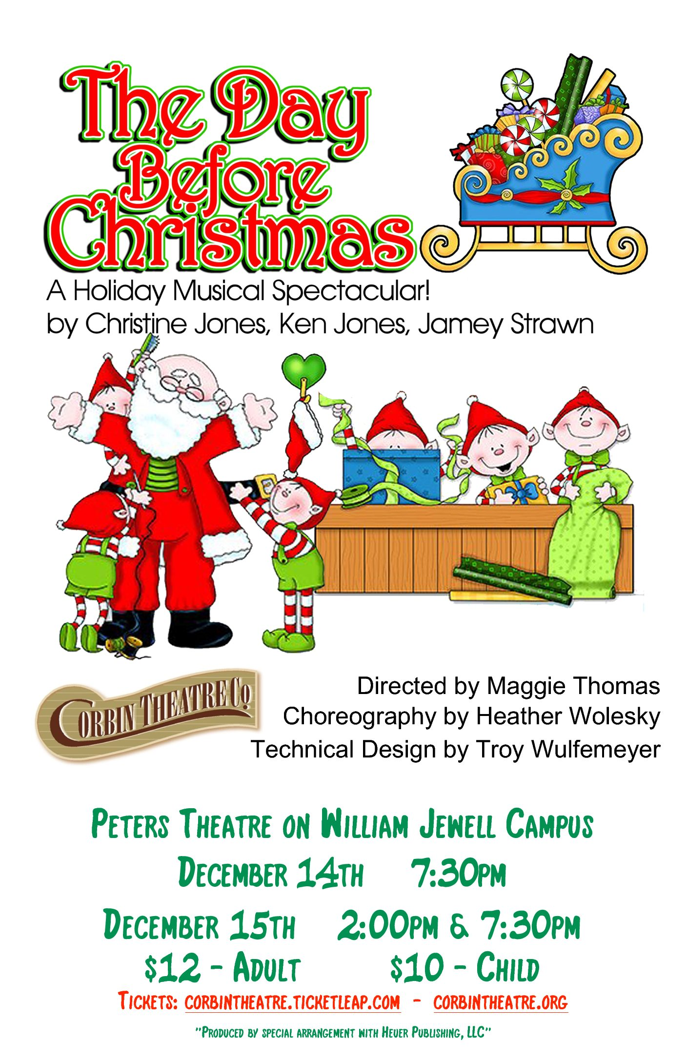 The Day Before Christmas - Corbin Theatre