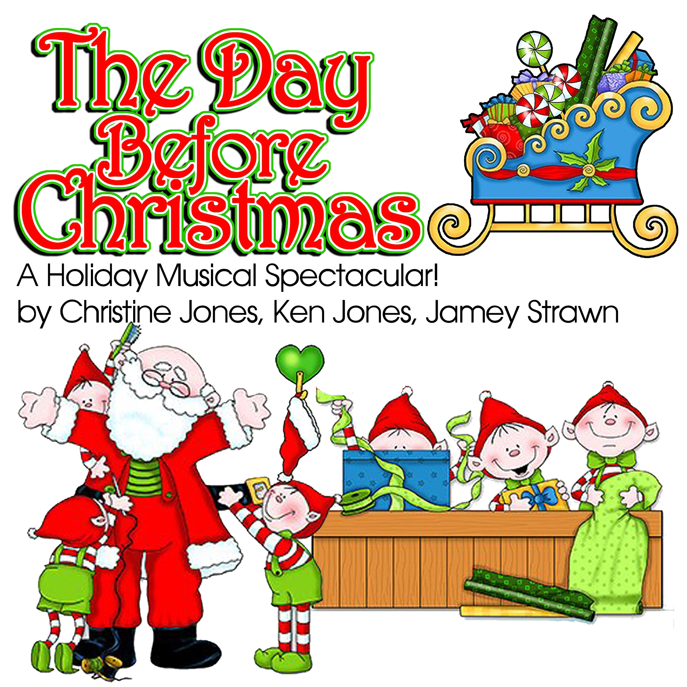 Audition - The Day Before Christmas - Corbin Theatre