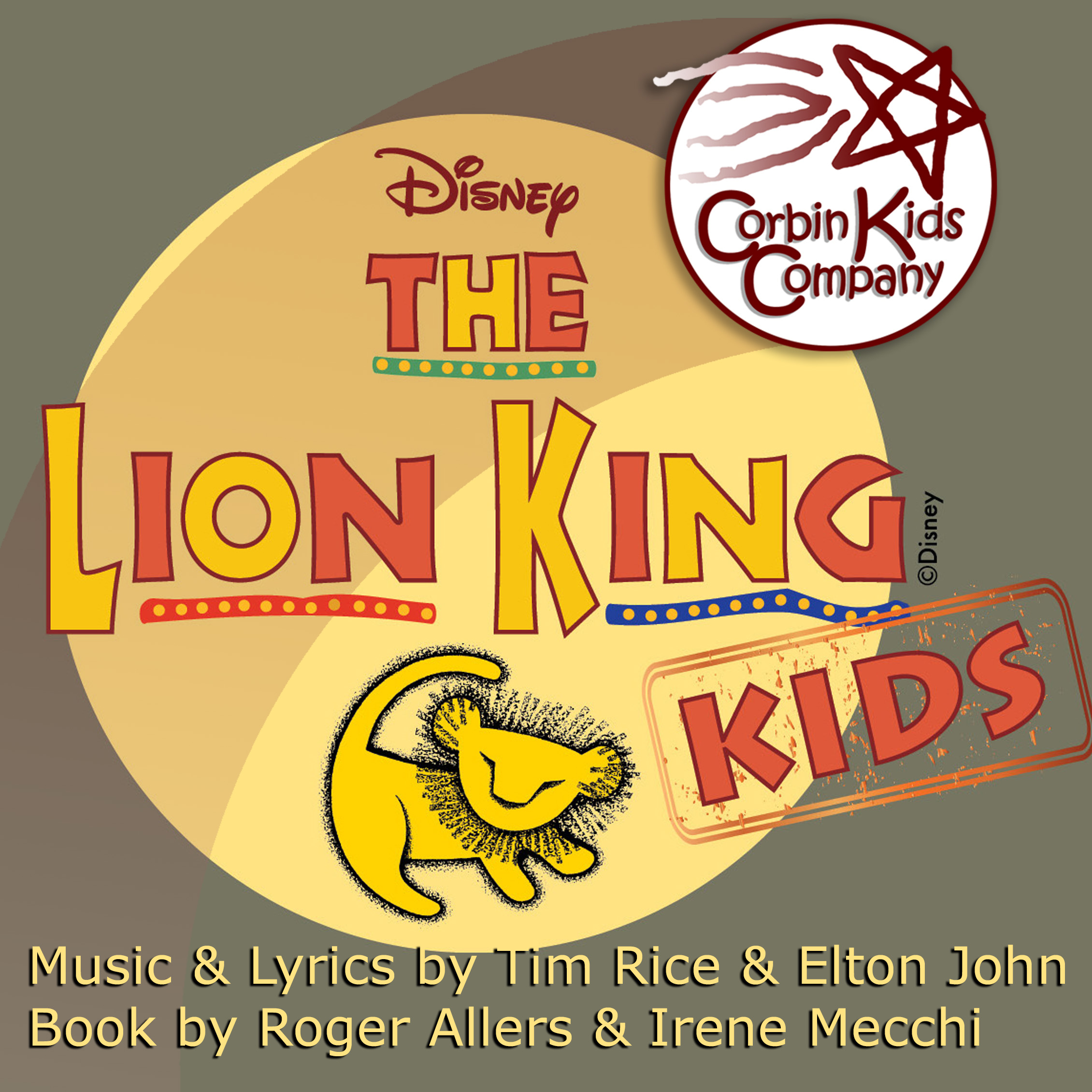 Lion King Kids Corbin Theatre